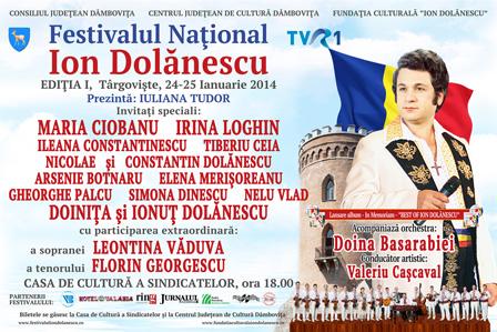 Afis Festivalul Ion Dolanescu Editia 1