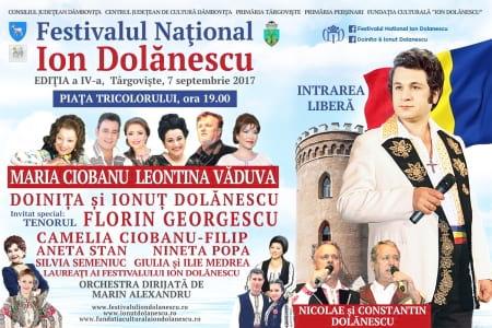Afis Festivalul Ion Dolanescu Editia 4