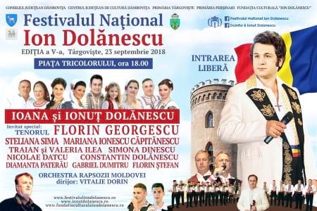 Afis Festivalul Ion Dolanescu Editia 5