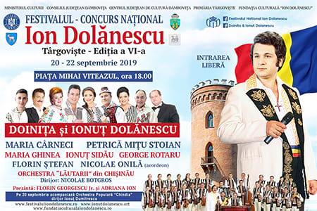 Afis Festivalul Ion Dolanescu Editia 6